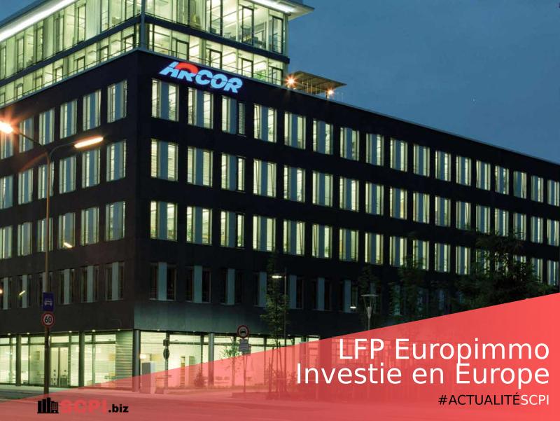 SCPI LFP Europimmo de La Française REM investie en Europe